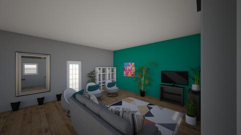 New Room winnn - Living room  - by BreonnaF