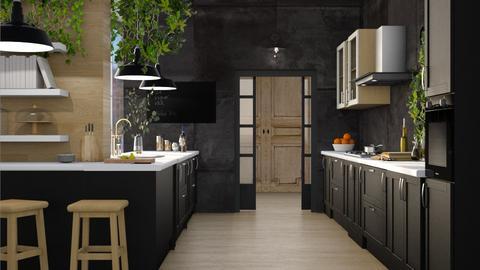 W AND B KITCHEN - Kitchen  - by vicktahome
