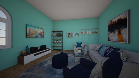 THE BLUE MAGIC - Classic - Living room  - by RRC1965