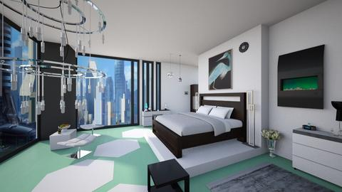 Futuristic - Modern - Bedroom  - by Sophia Cooper