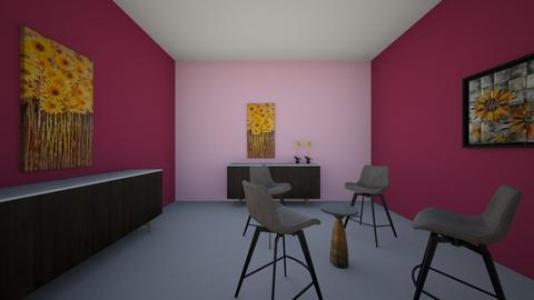 Asymmetrical Alex - Living room  - by RockPaperScissors51