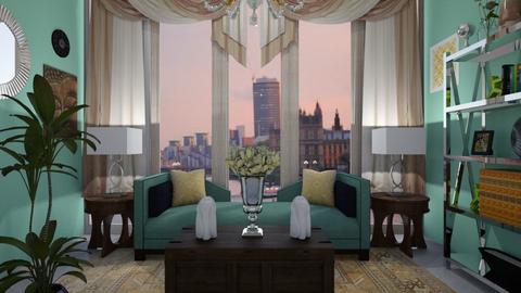 Modern Living Room - Living room  - by b sharp