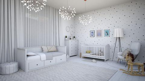 cutebabyroom - Kids room  - by AndreeaBC