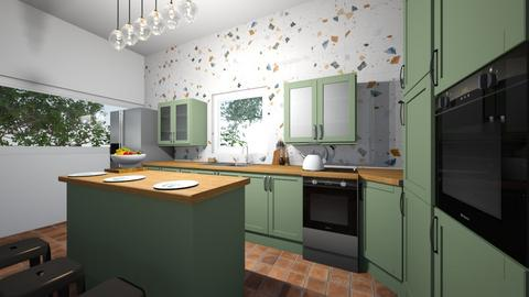 Emerald Mint - Kitchen  - by greekgirl37