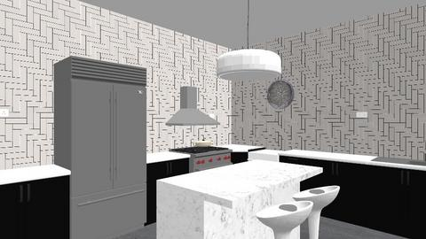 kitchen modern - Minimal - Kitchen  - by des2020