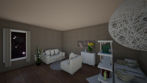 brown - Living room - by martina1999