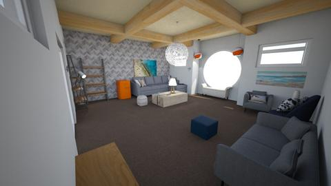 Beach She Shed - Living room  - by krogers22