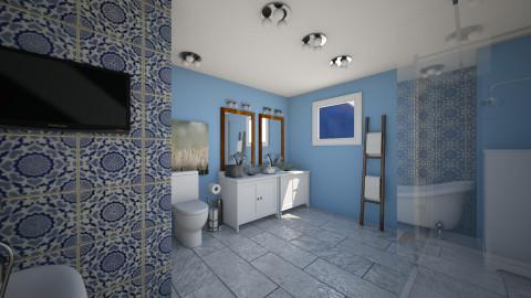 cool living - Bathroom - by soulsistakeke
