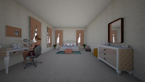 Anastacias Room - Modern - Bedroom - by oliviafab