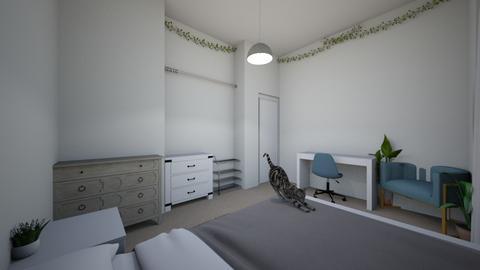my bedroooommm  - Bedroom  - by emilyzins
