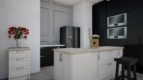 modern kitchen - Kitchen  - by jalainastyles