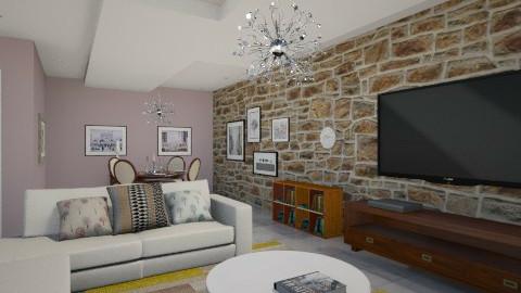 wood - Living room  - by Debora Cris