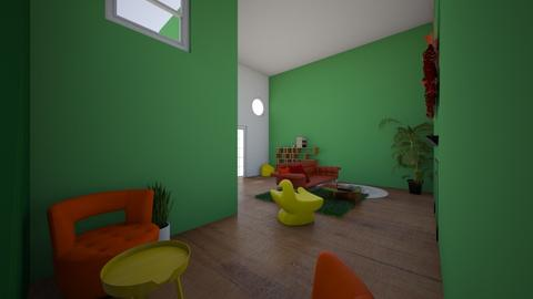 Competition no 1 - Living room  - by greekgirl37