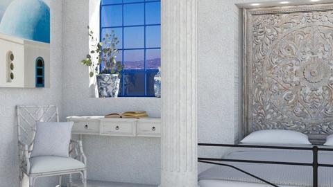 Modern Greek Bedroom 2 - Bedroom  - by luna smith