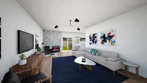 DWR Wheeler St 2 - Living room - by mikaelawilkins