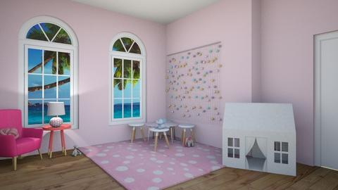 Playfully Pink - Kids room - by beach2019