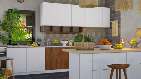 ghg - Modern - Kitchen  - by malithu damsath