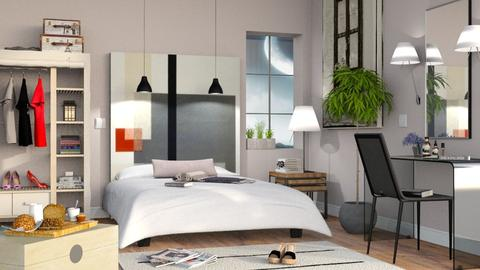 Bedroom Mural - Modern - Bedroom  - by Sally Simpson