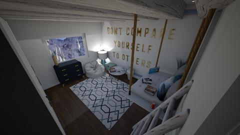 Small Bedroom 35 - Bedroom  - by Khayla Simpson
