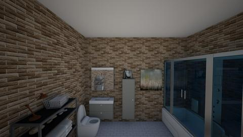 Nightfire Bathroom - Bathroom  - by Deadly_Nightshade89