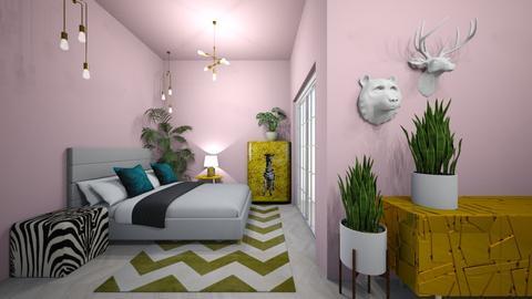 playful - Bedroom  - by kisi mja