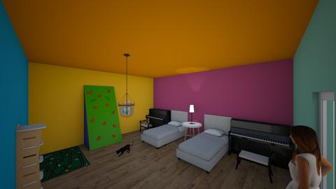 Theodora and Fotini  - Kids room  - by 10kozdim