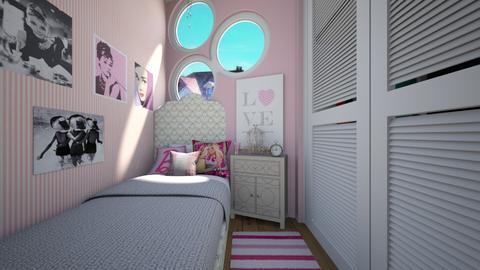 The Beehive Bedroom 2 - Kids room  - by SammyJPili
