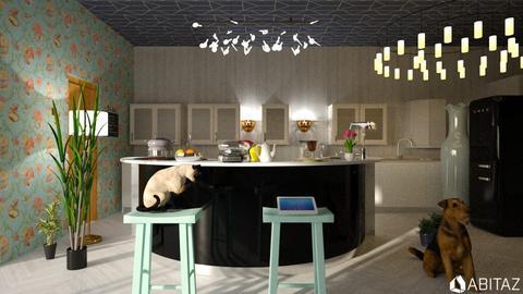 kitchen in NYC - Modern - Kitchen  - by DMLights-user-2134665