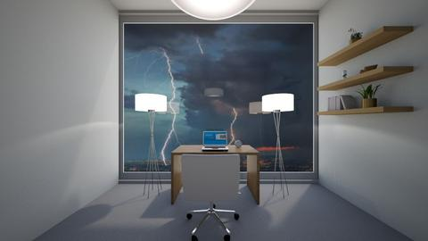 Stormy day office - Office  - by ZolaKate