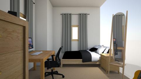 Sams Bedroom - Modern - Bedroom  - by SamMcGeoch