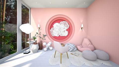Soft Lounge - by AGirlWhoLikesDesign