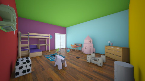 colors of kids - Country - Kids room  - by kommi0103