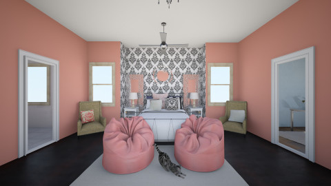 mad's surprise room - Glamour - Bedroom  - by michelle_m505