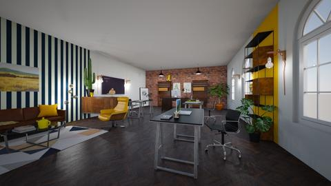 Yellow office - Office  - by Gozome