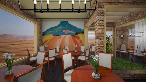 O Keeffe inspired Restaur - by Tupiniquim