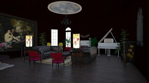 old - Classic - Living room  - by rcrites457