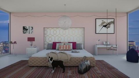 Bedroom for Jenya - Modern - Bedroom  - by bgref