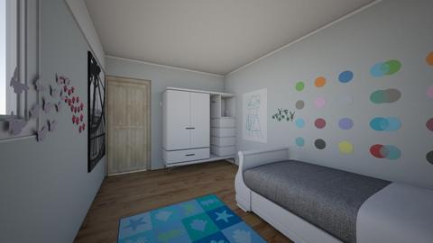 Juan Jose Kids - Bedroom  - by Maosequeiros