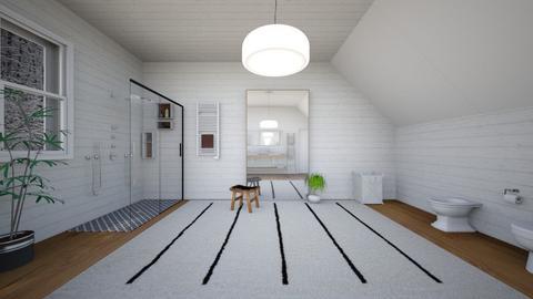 nordic - Bathroom  - by Angela Quintieri