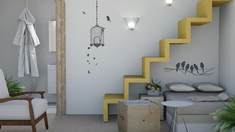 Downstairs Dormer - Modern - by millerfam