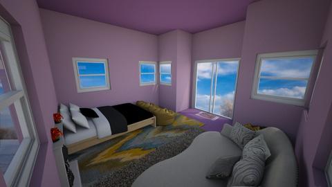 flying house - Bedroom  - by dunlopgirl