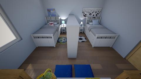 Room Design 2 - Kids room  - by erinwillis