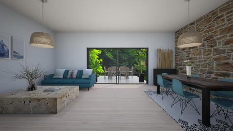 Minimalist living room - Living room  - by Marion_