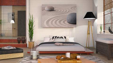IP Diego - Eclectic - Bedroom  - by Sally Simpson