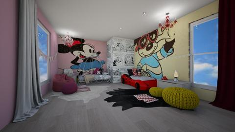 Disney Loft - Bedroom  - by kristina_bina