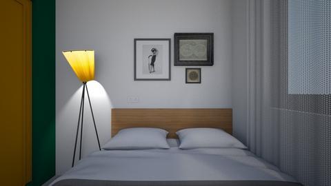 Bedroom P13 - Modern - Bedroom  - by MissChellePh