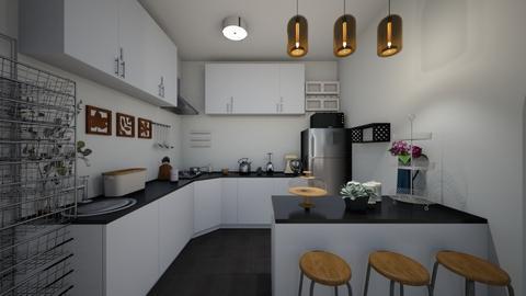 KitchenViewFull - Kitchen  - by Kat998
