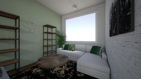 Hobbemalaan home 4 - Living room  - by linnoodles