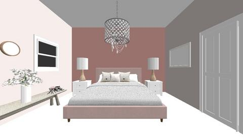Interior Design Project  - Bedroom  - by Kacurran