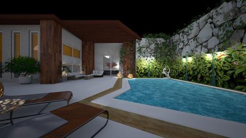 Pool XX - Garden - by nanabpf